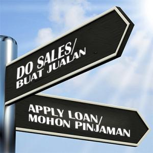 sales vs loan